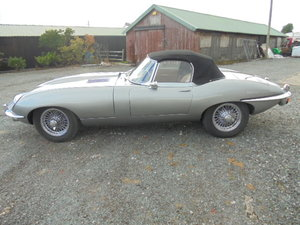 Jaguar E Type S2 Roadster 1969