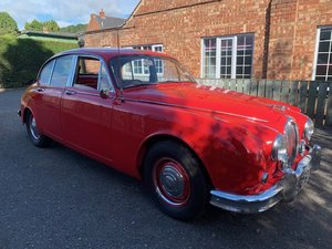 **OCTOBER ENTRY** 1960 Jaguar 3.4 Saloon For Sale by Auction