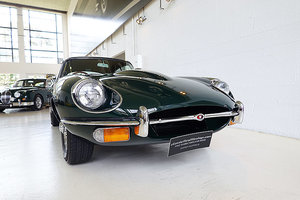 Picture of 1969 Restored AUS del. E-Type S2 in BRG over Cinnamon leather For Sale