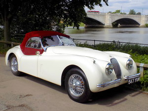 JAGUAR XK120 OTS ROADSTER - BODY-OFF REBUILD + NEW CHASSIS