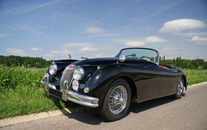 Jaguar xk150 roadster equipped  rare 3.8 S
