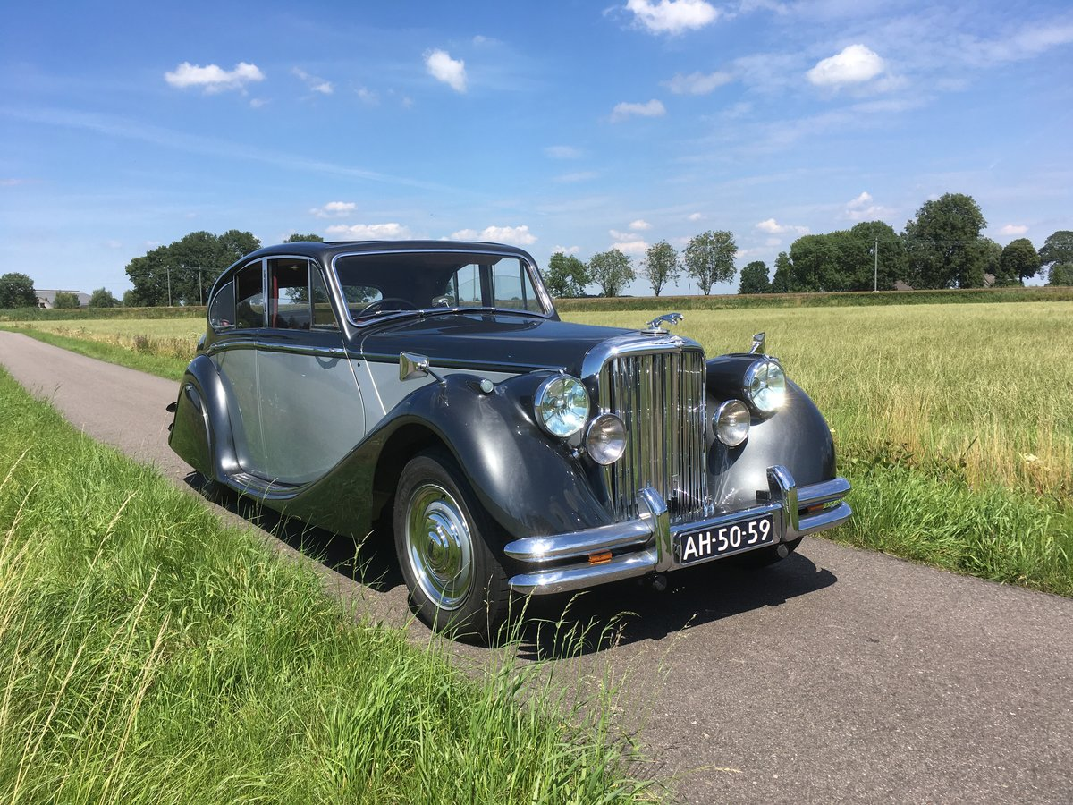 1949 Jaguar MK5 Saloon (right handed)  For Sale (picture 1 of 6)