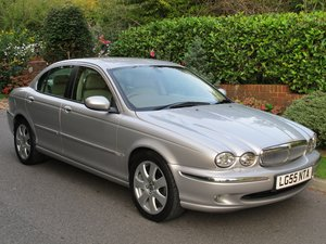 JAGUAR X-TYPE 2.0d SE NAVIGATION FULL LEATHER JAGUAR FSH