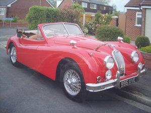 Picture of 1956 1955 Jaguar XK140
