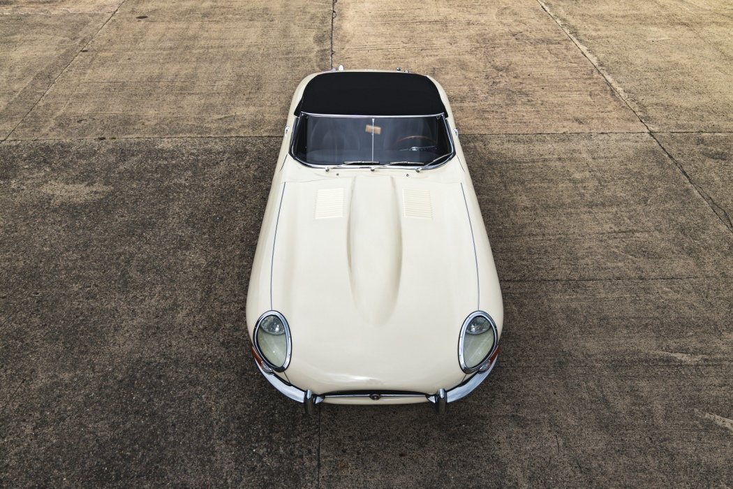 1961 Jaguar E Type Roadster Outside Bonnet Lock For Sale (picture 1 of 6)