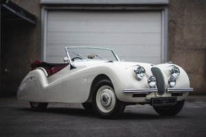 1952 Xk 120 four seater convertible by abbott