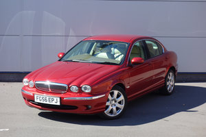 Picture of Jaguar X-Type 2.2d SE Manual Saloon 2006/56 76,000m FSH Nav SOLD