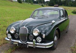 1957 Jaguar MK1 2.4,  RHD, Original Swiss