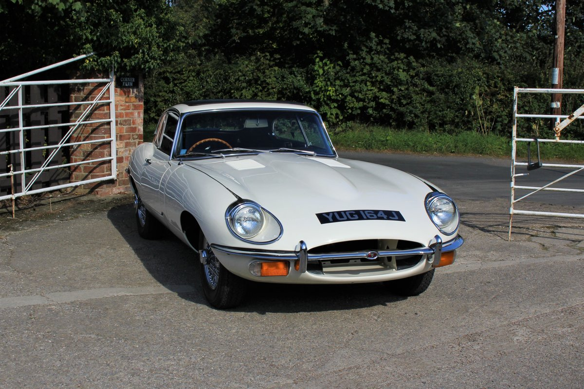 1971 Jaguar E-Type Series II 4.2 FHC For Sale (picture 1 of 17)