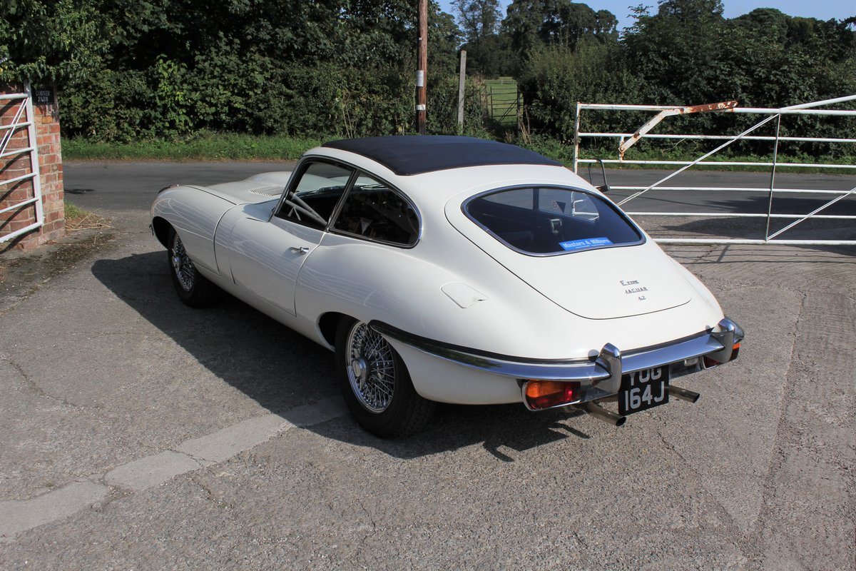 1971 Jaguar E-Type Series II 4.2 FHC For Sale (picture 4 of 17)