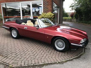 1993 JAGUAR XJS 4.0 CONVERTIBLE (Just 25,000 miles from new)