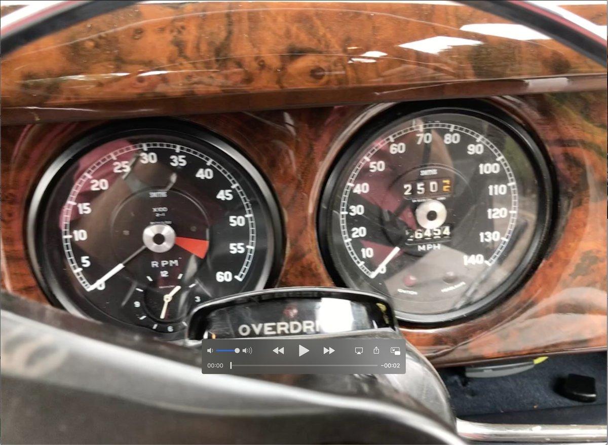 1968 Superb 3.4 Jaguar S Type 65500 miles For Sale (picture 2 of 5)