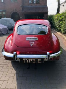 1971 Jaguar V12 fhc E-type with TYP3 E / TYP 3E plate