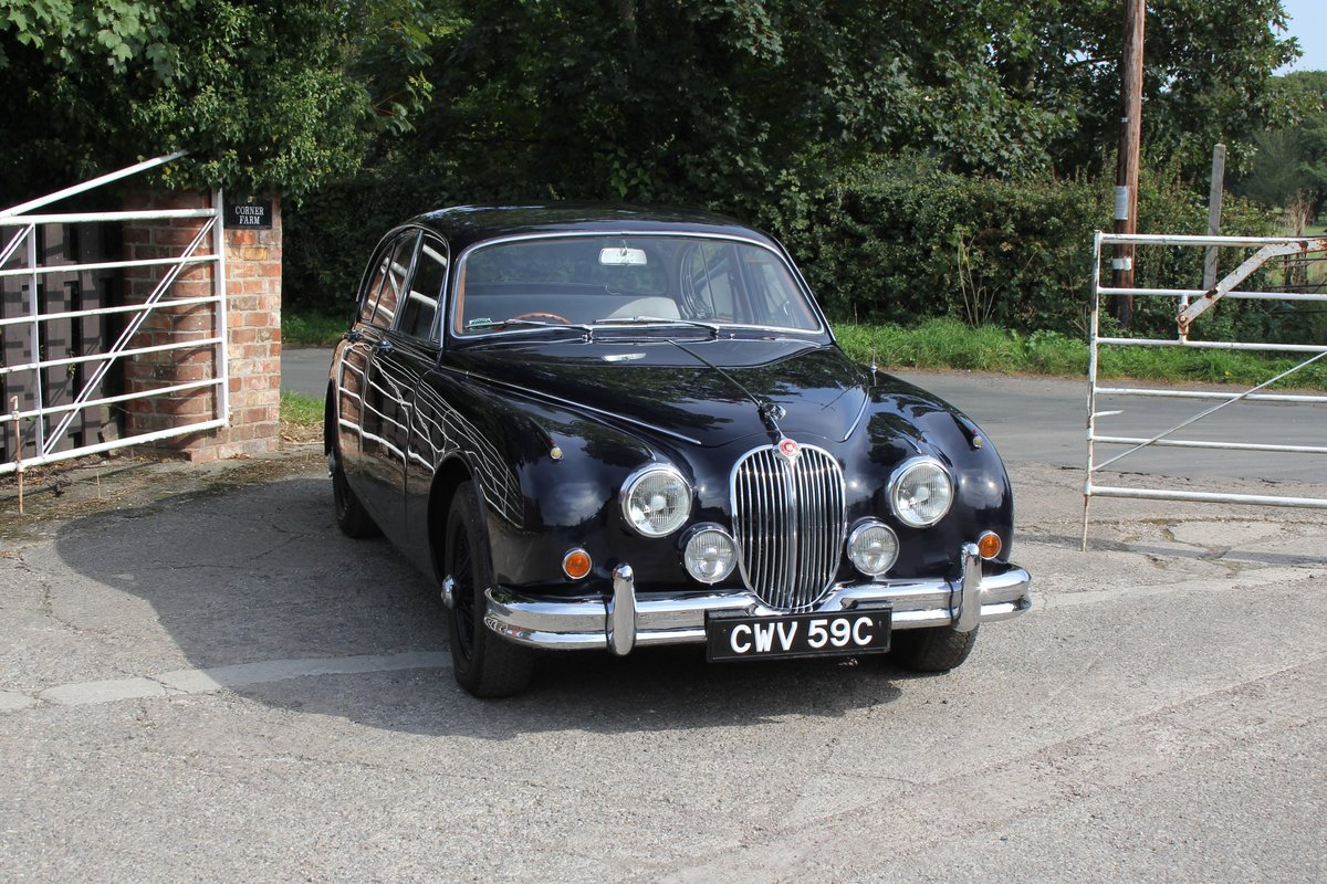 1965 Jaguar MkII 3.4 Manual with Overdrive, Over 25K Spent For Sale (picture 1 of 18)