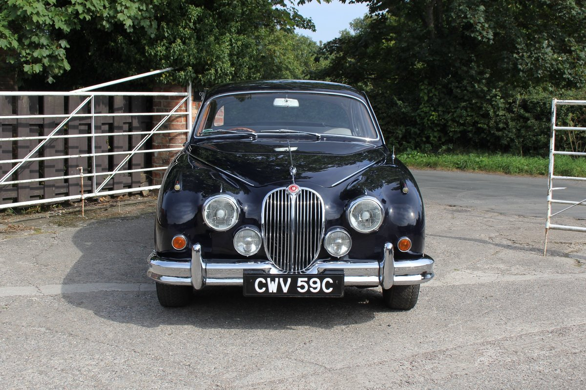 1965 Jaguar MkII 3.4 Manual with Overdrive, Over 25K Spent For Sale (picture 2 of 18)