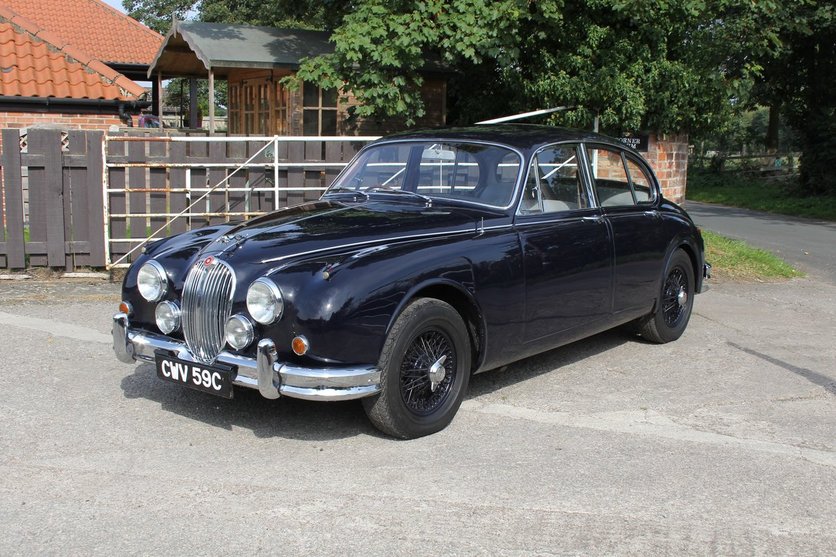 1965 Jaguar MkII 3.4 Manual with Overdrive, Over 25K Spent For Sale (picture 3 of 18)