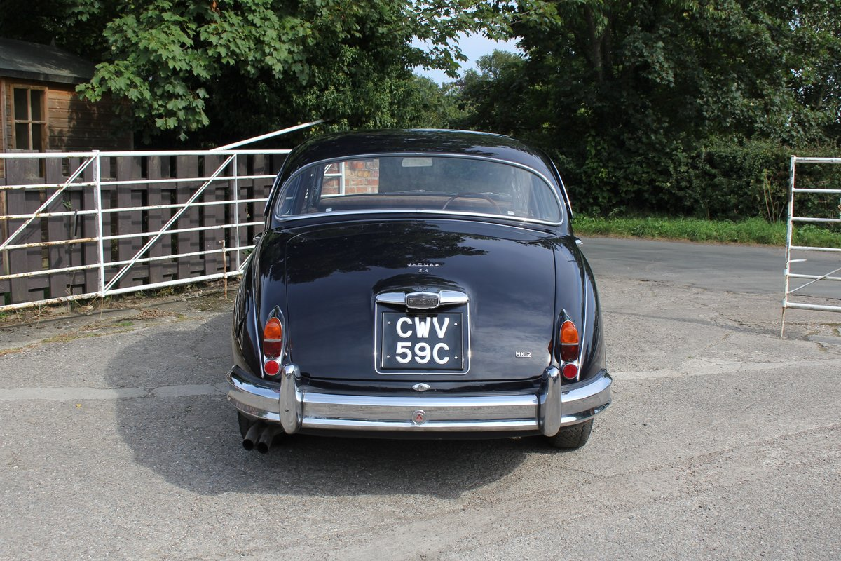1965 Jaguar MkII 3.4 Manual with Overdrive, Over 25K Spent For Sale (picture 5 of 18)