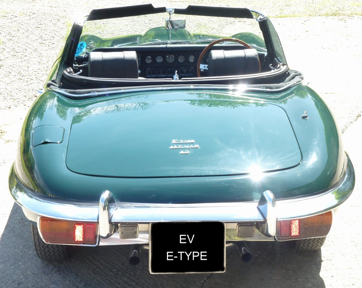 1967 Electric Jaguar E Types Conversions  For Sale (picture 2 of 6)