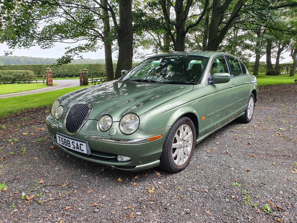 1999 Jaguar S-Type 4.0 V8 just 38000 miles For Sale (picture 1 of 6)