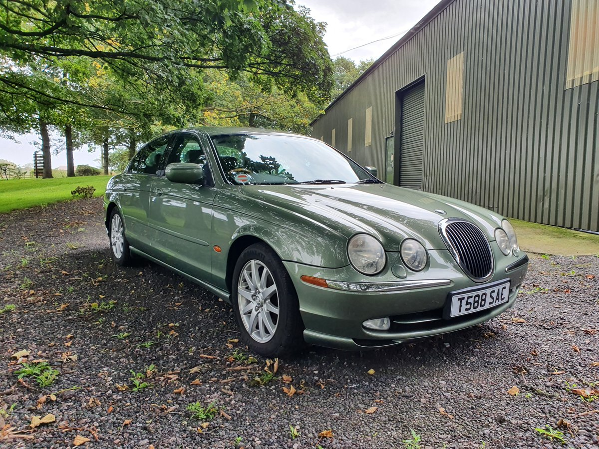 1999 Jaguar S-Type 4.0 V8 just 38000 miles For Sale (picture 2 of 6)