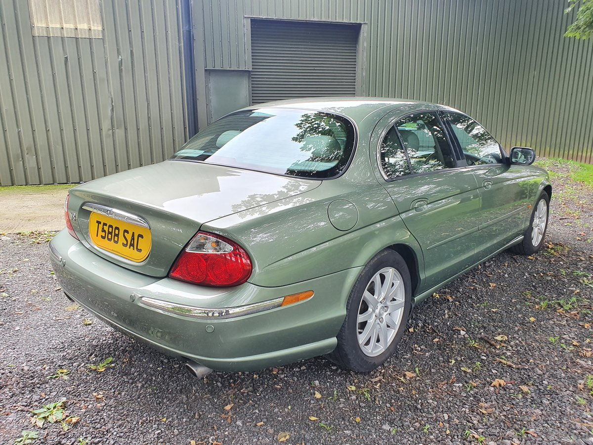 1999 Jaguar S-Type 4.0 V8 just 38000 miles For Sale (picture 3 of 6)