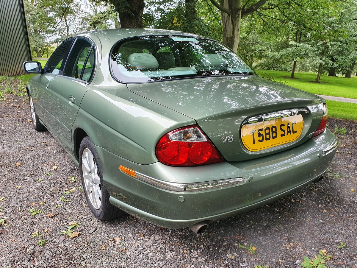 1999 Jaguar S-Type 4.0 V8 just 38000 miles For Sale (picture 4 of 6)