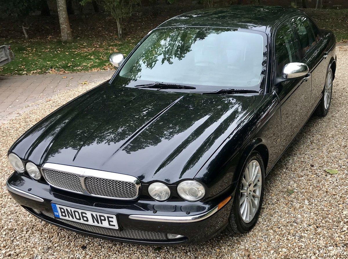 2006 Jaguar XJ6 TDVi Sport Premium, Full History For Sale (picture 2 of 6)