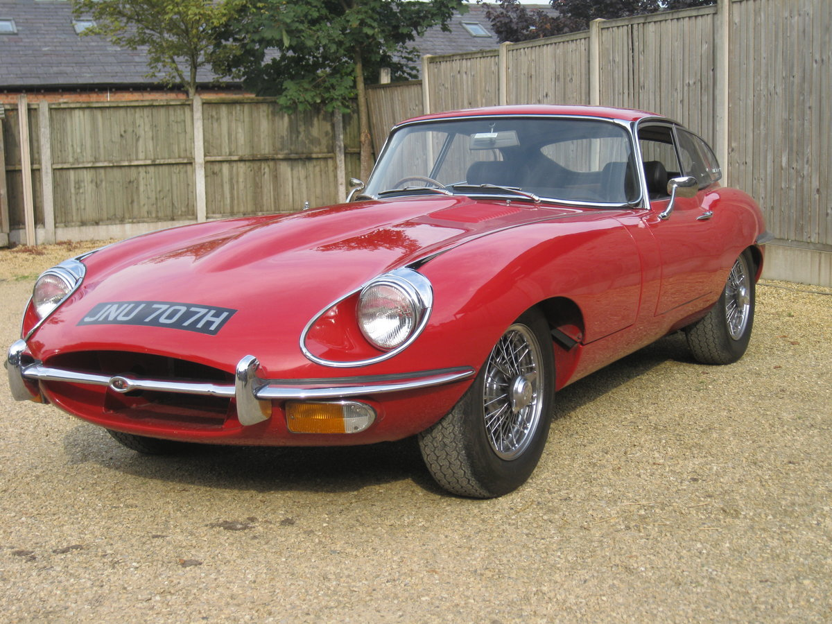 1970 Jaguar E Type Series 2 For Sale (picture 2 of 6)