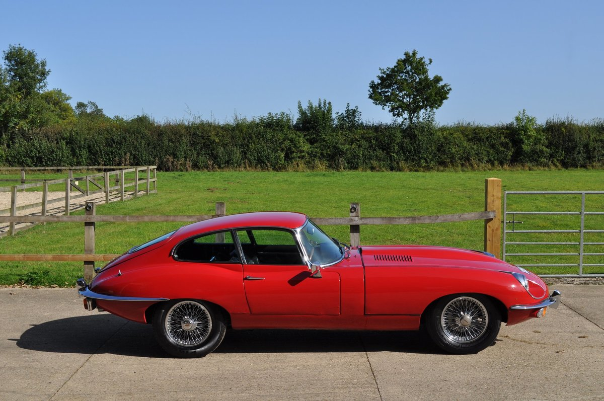 1969 E Type Series 2 FHC 4.2 Manual For Sale (picture 5 of 6)