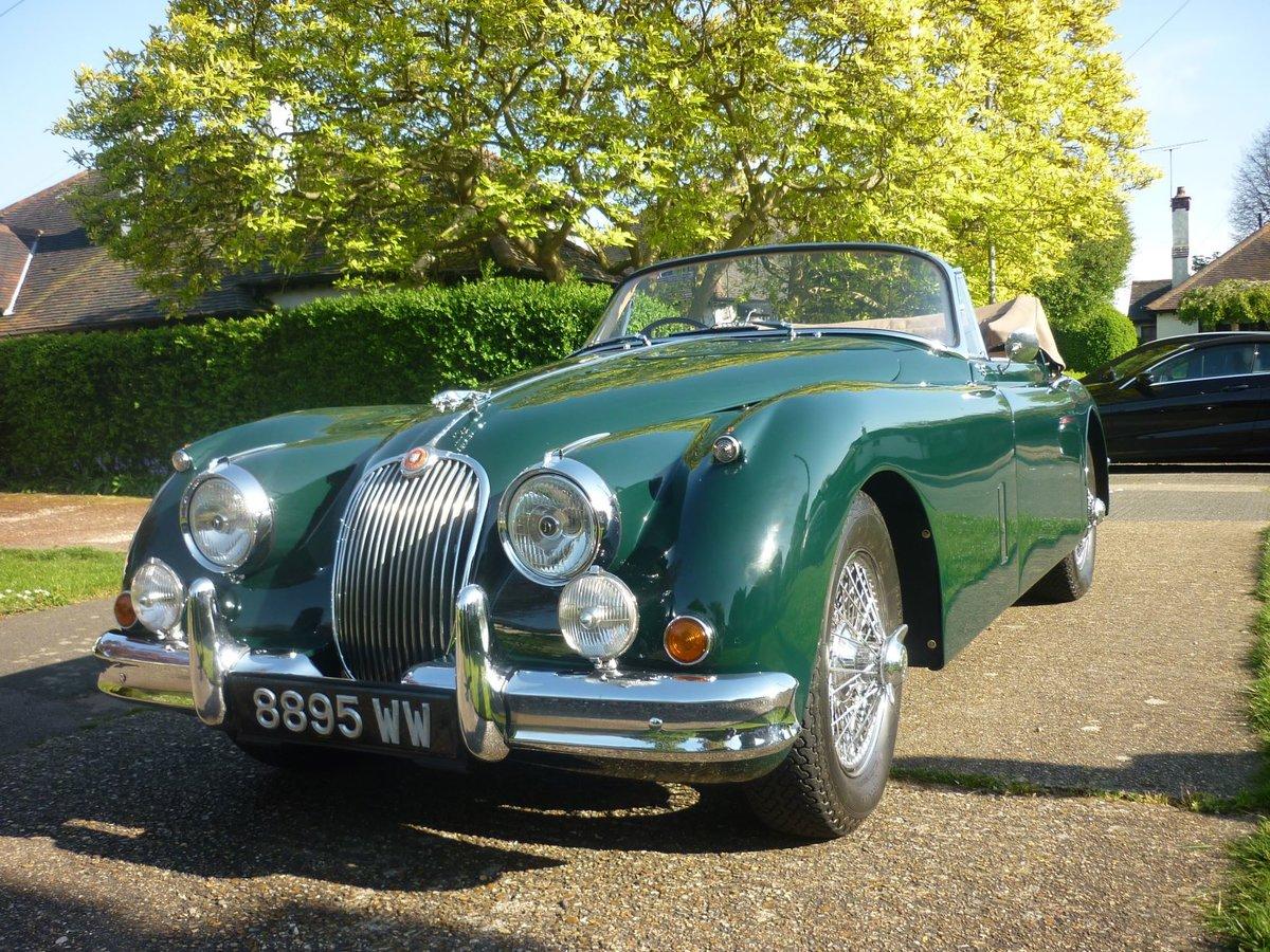 1960 Jaguar xk150 s  drophead  full body off resto For Sale (picture 6 of 6)