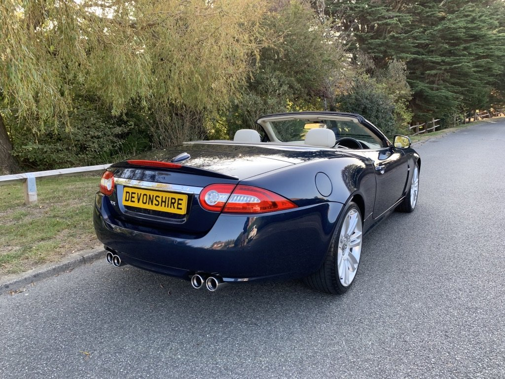 2009 Jaguar XKR 5.0 V8 Supercharged Convertible SOLD | Car And Classic