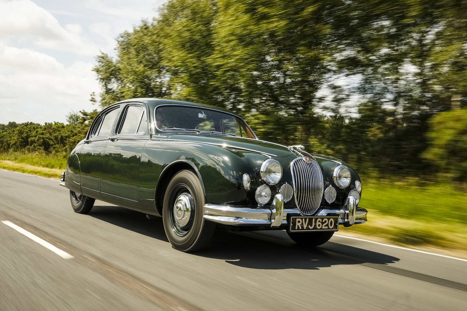 1958 Jaguar MK1 Exceptionally original with 26,553 miles from new For Sale (picture 1 of 6)