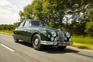 1958 Jaguar MK1 Exceptionally original with 26,553 miles from new