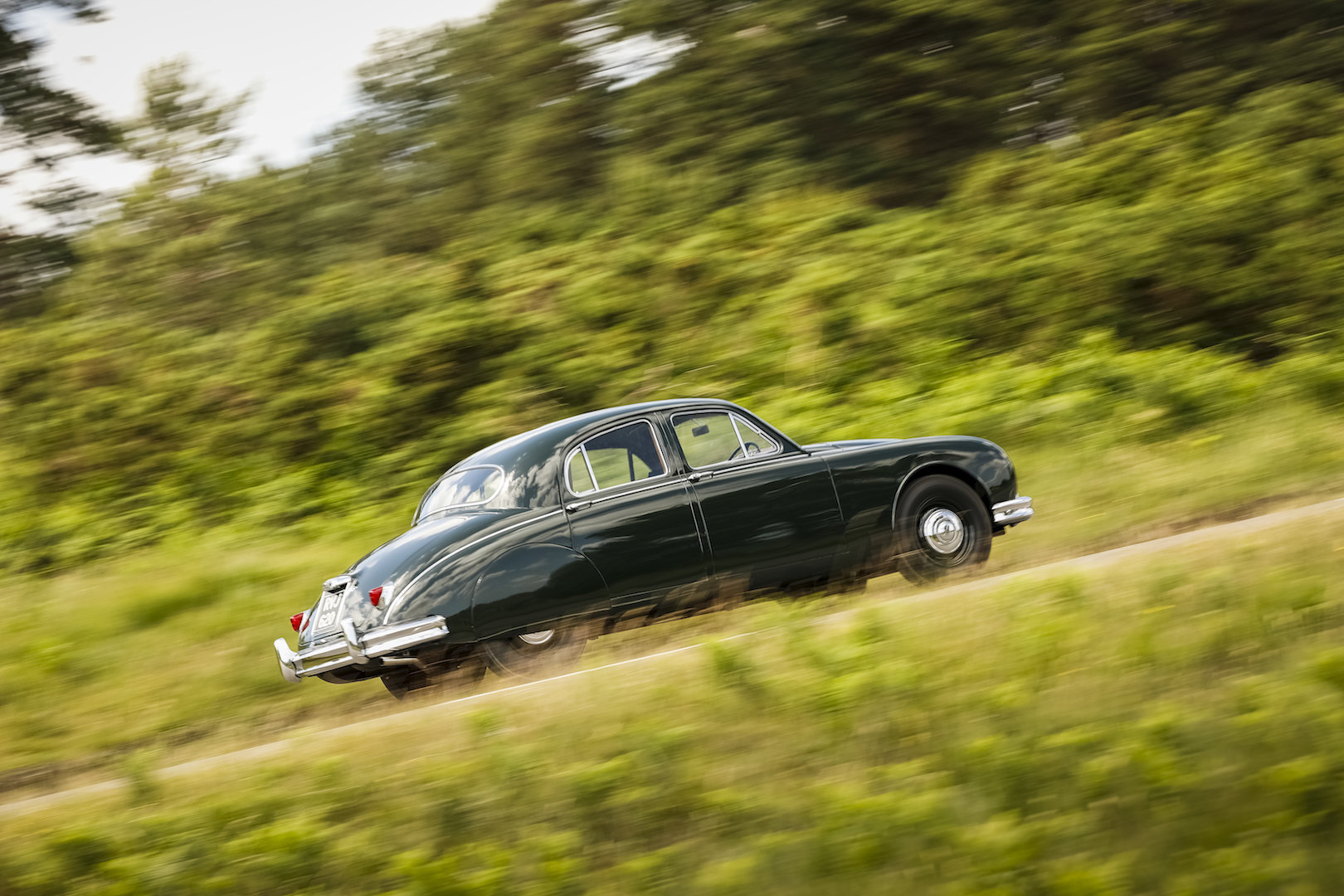 1958 Jaguar MK1 Exceptionally original with 26,553 miles from new For Sale (picture 6 of 6)