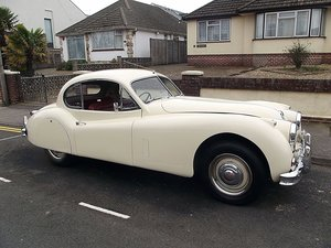 1956 JAGUAR XK140 SE FIXED HEAD COUPE (manual with overdrive) For Sale