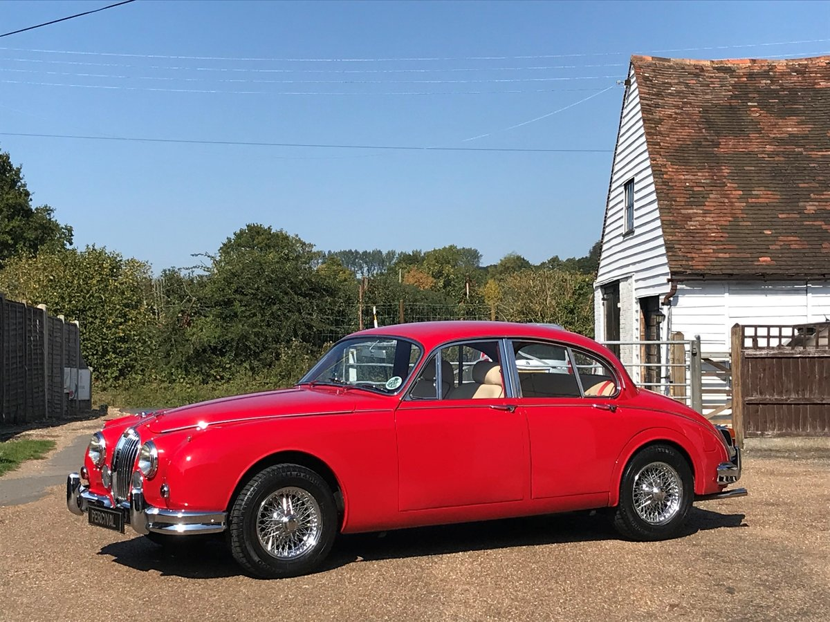 1964 Jaguar Mk 11 3.8 litre, manual gearbox, power steering For Sale (picture 1 of 6)