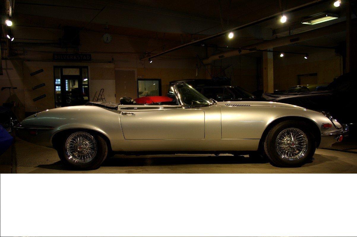 Jaguar E-Type 5,3l V12 Rdst S III 1973 For Sale (picture 6 of 6)