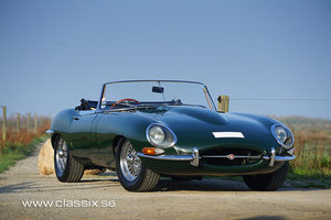 Jaguar E-type Roadster RHD series 1
