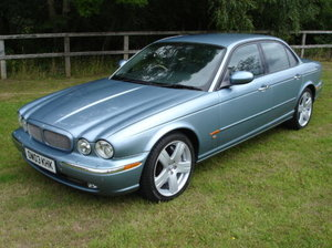 Jaguar xjr 4.2 supercharged x350 model