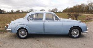 1965 Jaguar 3.4 MK2 Saloon in Opalescent Light Blue Metallic