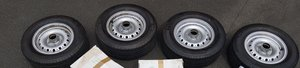 Picture of 1960 JAGUAR D TYPE PEG STYLE WHEELS AND TYRES