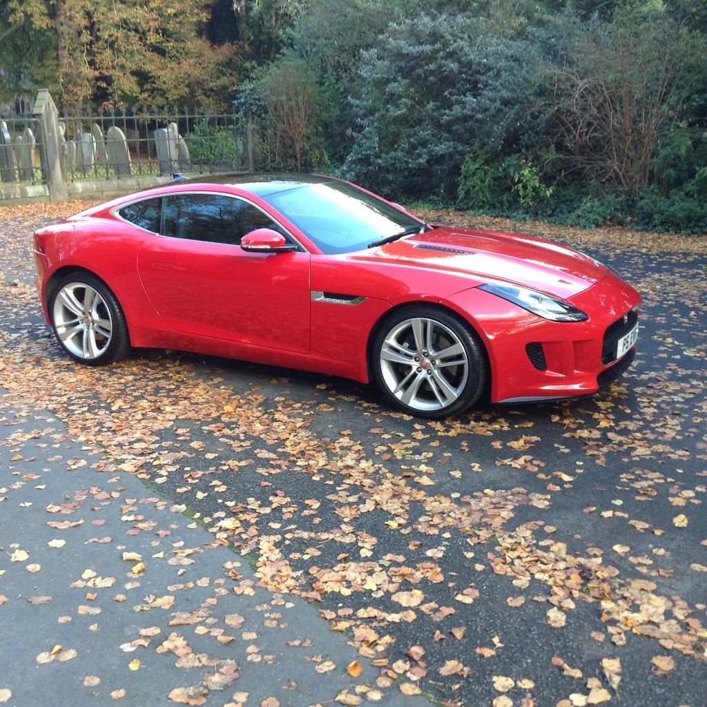 2014 Stunning Jaguar F Type Coupe For Sale (picture 1 of 6)