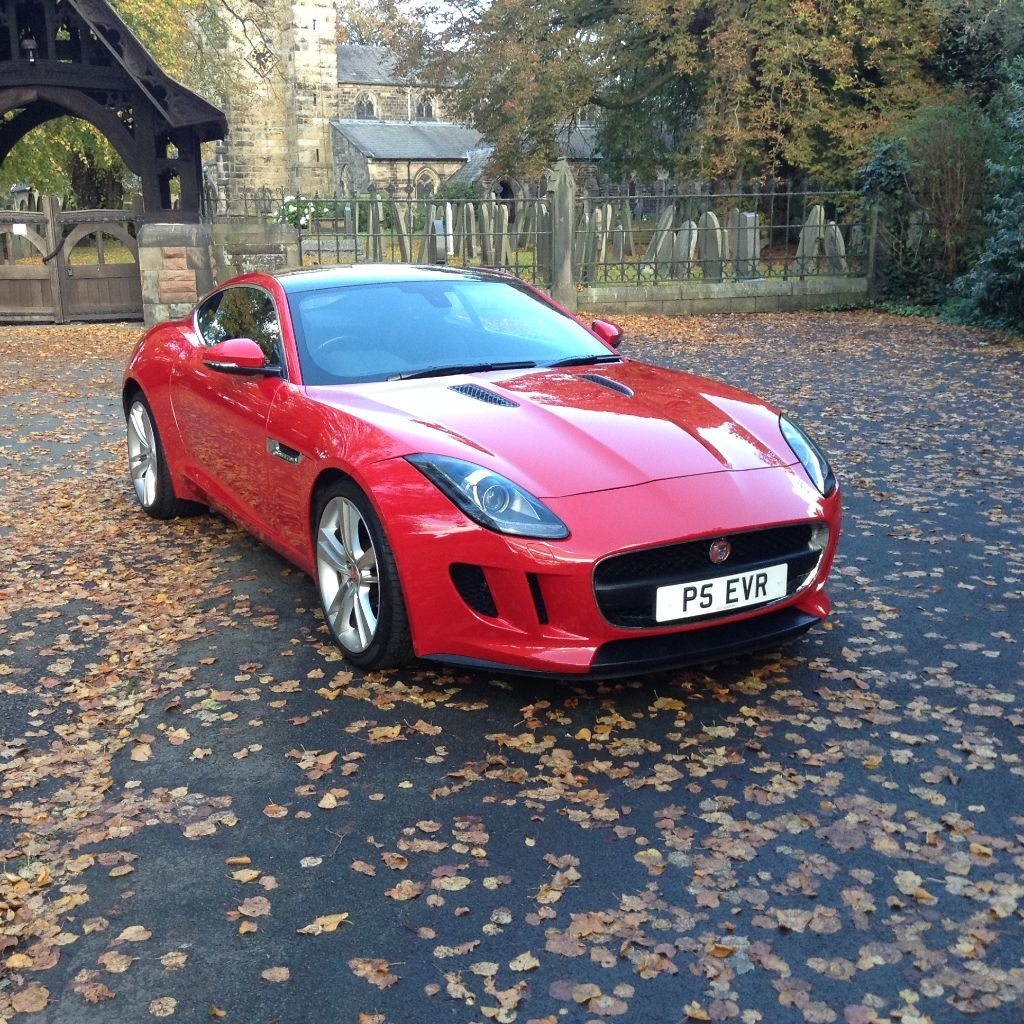 2014 Stunning Jaguar F Type Coupe For Sale (picture 2 of 6)