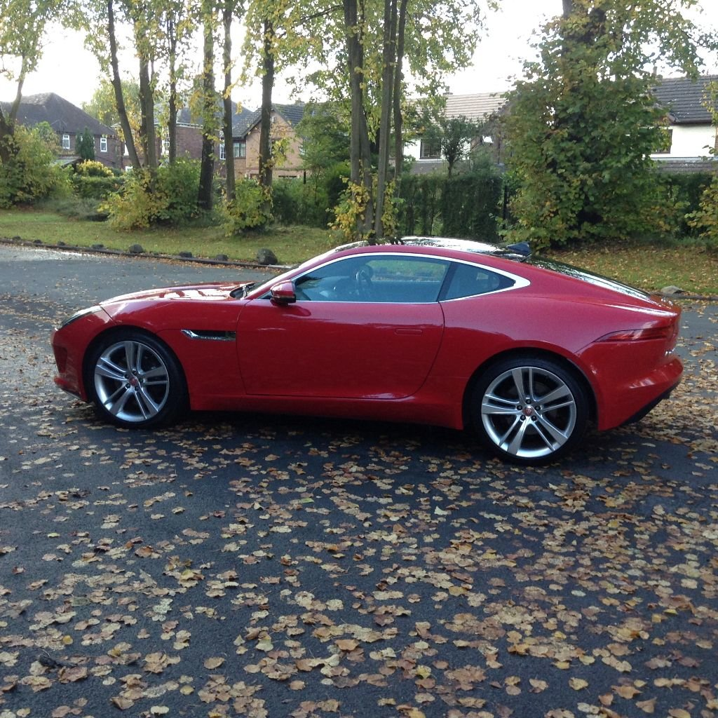 2014 Stunning Jaguar F Type Coupe For Sale (picture 4 of 6)