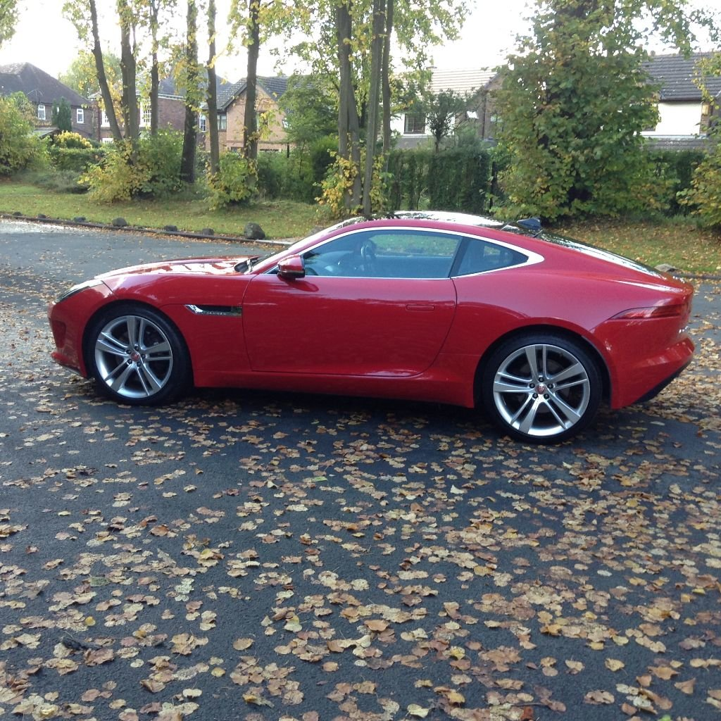 2014 Stunning Jaguar F Type Coupe For Sale (picture 5 of 6)