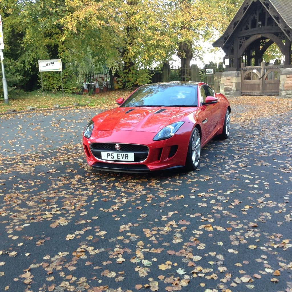 2014 Stunning Jaguar F Type Coupe For Sale (picture 6 of 6)