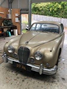 Picture of 1960 Rare Jaguar 3.8 LHD manual overdrive - golden sand