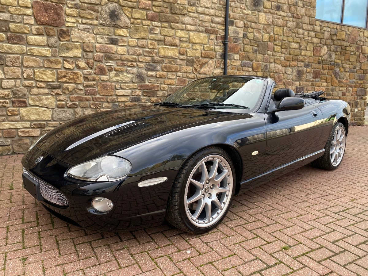 2004 JAGUAR XKR 4.2 SUPERCHARGED CONVERTIBLE ALL BLACK EDITION *  For Sale (picture 1 of 6)