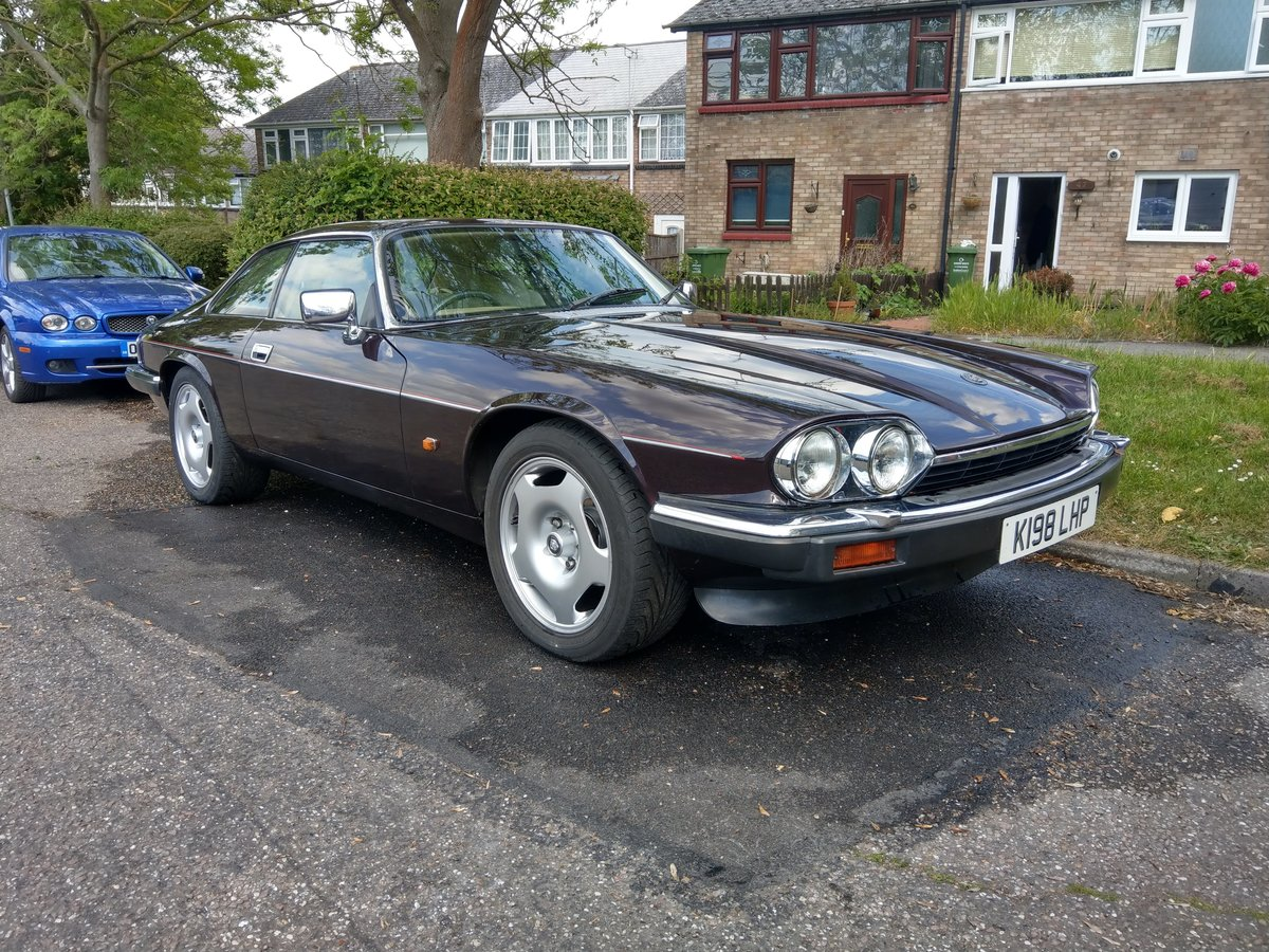 1992 Jaguar XJS 4.0 Moroccan Red  For Sale (picture 2 of 6)