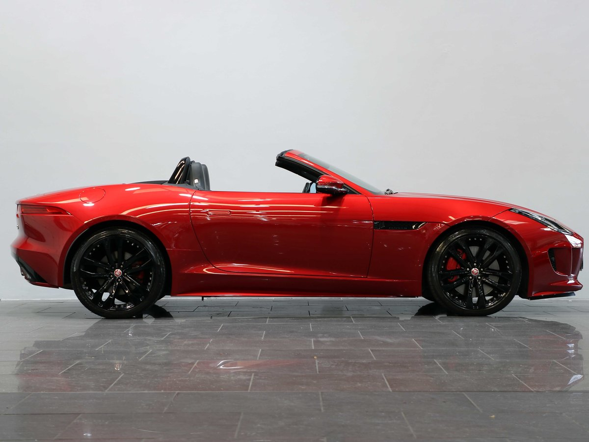 2016 16 16 JAGUAR F-TYPE S CONVERTIBLE 3.0 V6 SUPERCHARGED AUTO For Sale (picture 2 of 6)